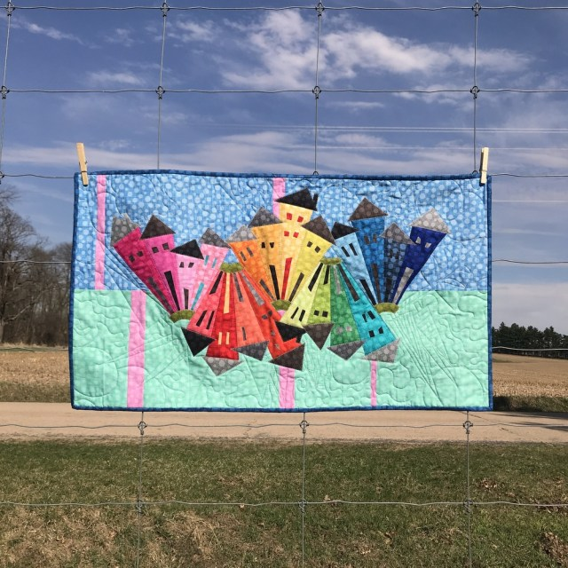 Rainbow Hashdot Dresden Neighborhood by Kim Lapacek