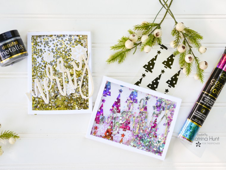 Christmas Shaker Cards