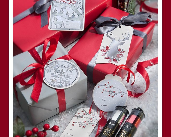 Winter Holiday Gift Tags