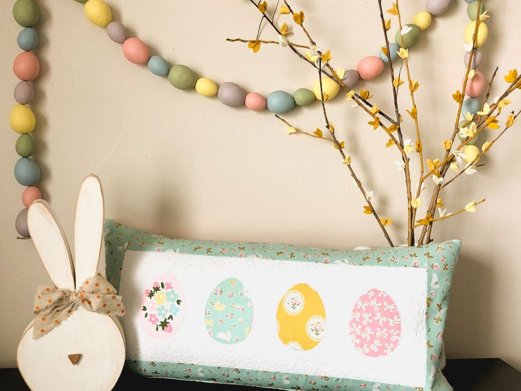Easter Egg Pillow