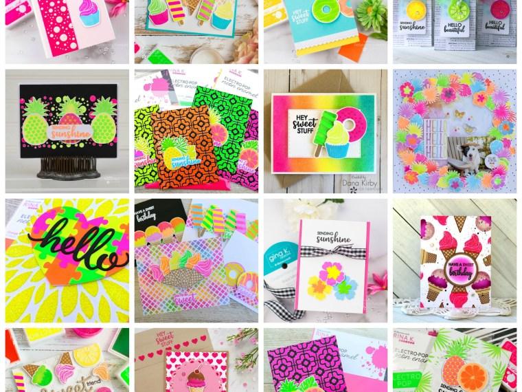 Rina K Designs Electro Pop