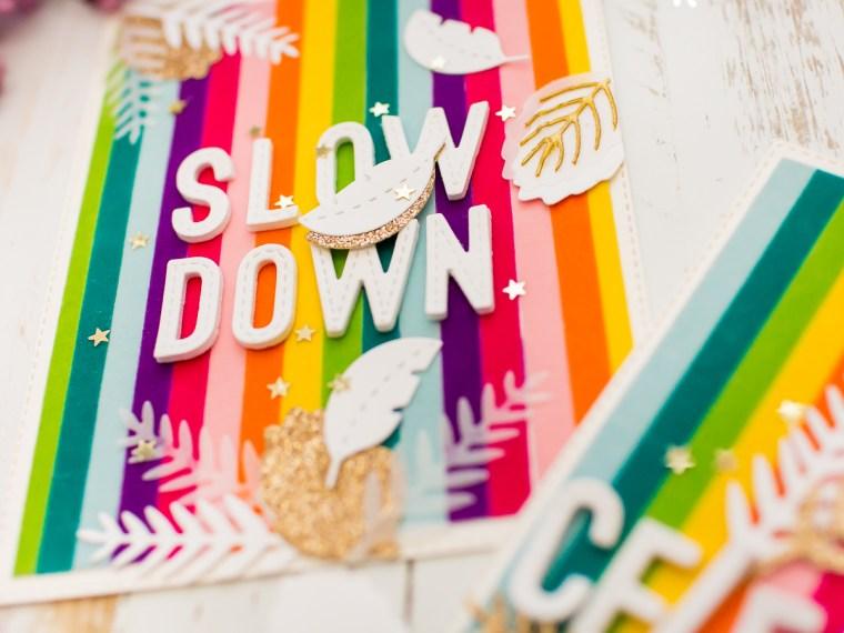 Celebrate Life Deco Foil Flock Cards