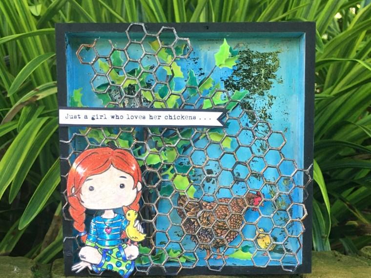 Whimsy Altered Art Box