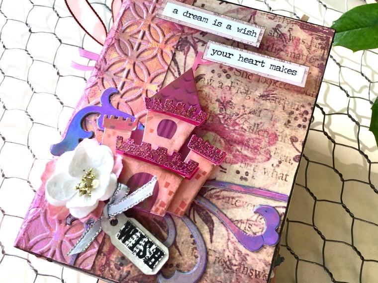 Castle Mini Album with New Fairytale Deco Foil