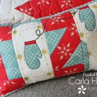 Let's Get Cozy with a Holiday Pillow Cover with HeatnBond