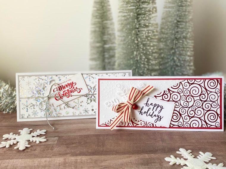 Slimline Holiday Cards