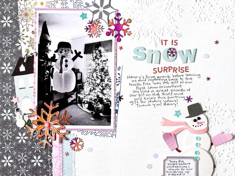 Snow Surprise Layout