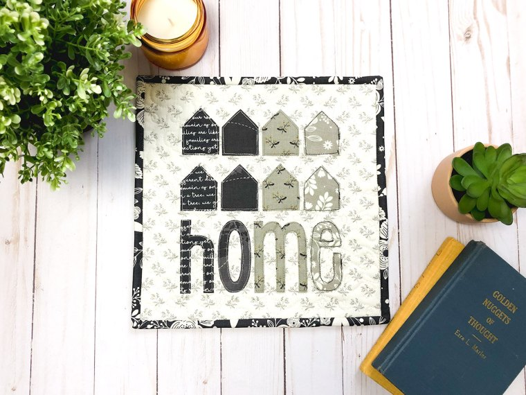 Home Ombre Mini Quilt with HeatnBond