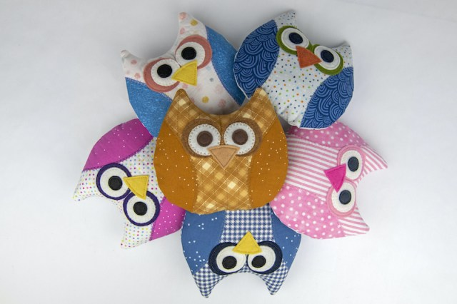 owl softies finished