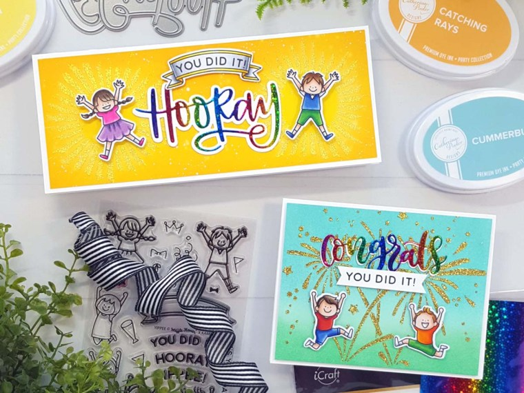 Birthday Cards for Kids with Deco Foil