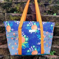 Beach Bound! Super Sweet Fruit Beach Bag with HeatnBond Interfacing