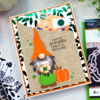 Coffee Week: Festive Fall Gnome Gift Card with Deco Foil Flock
