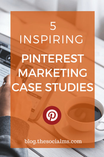 Pinterest has marketing superpowers. Here are 5 inspiring Pinterest marketing case studies to show you what is possible with marketing on Pinterest!