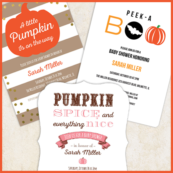 5 Ideas For Throwing A Pumpkin Baby Shower Studio Notes