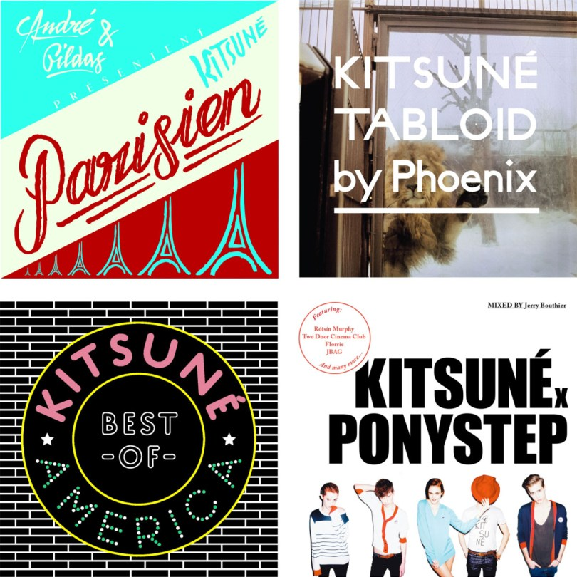 Maison Kitsune Music Pop-Up Store