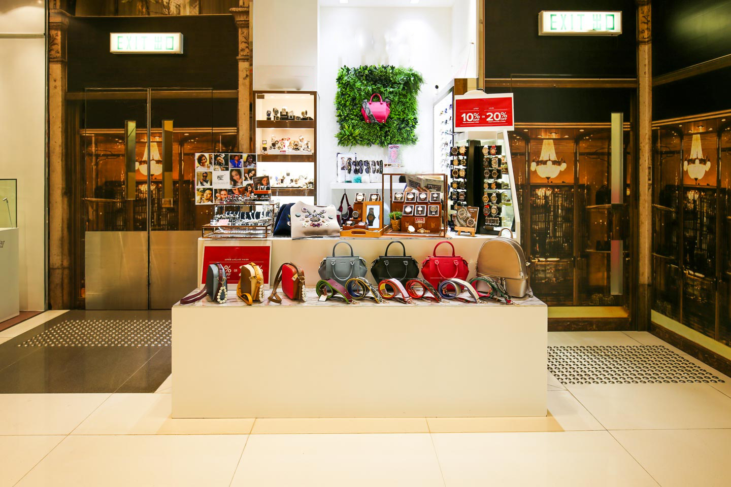 Pop-Up Shop in Busy TST Mall - Storefront Blog