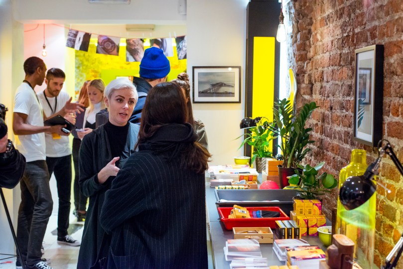 Kodak Pop-up store london