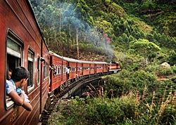 We'll enjoy one of the world's great scenic train journeys.