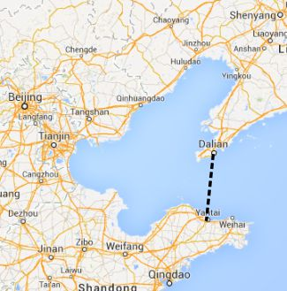 China has announced plans to build the world's largest undersea tunnel across the Bohai strait.