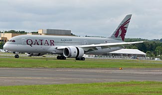 It is thought a Qatar 787 suffered an on-the-ground fire last Sunday.  The airline isn't commenting.