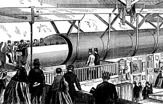 The new Hyperloop transportation system is a re-imagined application of an earlier concept, hopefully in a more perfect and practical form.