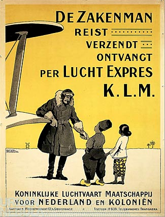 KLM - by one measure, the world's oldest airline.
