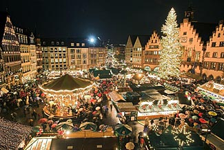 One of Germany's exquisitely beautiful Christmas markets.
