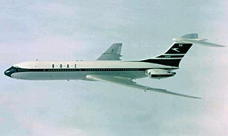 The record holder for fastest passenger jet flight between London and New York is a 54 year old English plane (the Vickers VC10) that ceased flying last week.