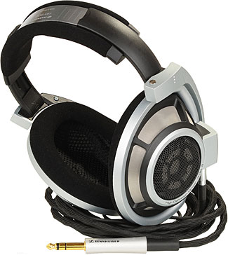 Sennheiser's HD 800 headphones are likely to ultimately please even the most discerning ear.