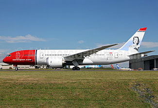 Norwegian's 787s have been spending too much time on the ground and too little time flying, recently.