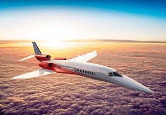 An impression of a possible new supersonic jet.  We can hope....