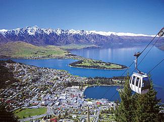 Beautiful Queenstown, NZ's most popular and beautiful tourist region.