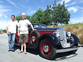 Driving a vintage car around the beautiful region is another activity visitors will be offered.