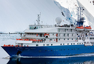 The lovely luxurious all-suite Sea Spirit.
