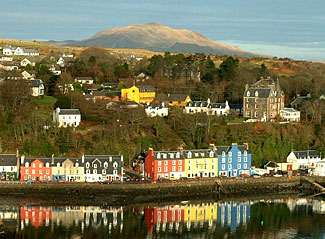 The lovely little fishing town of Tobermory on the Island of Mull, one of the seven islands our Scottish tour visits next June.
