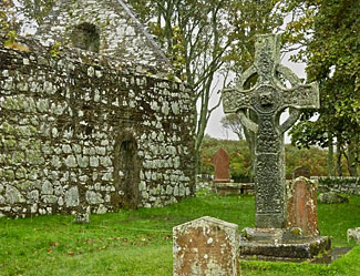 The 8th century Kildalton cross - the finest surviving Celtic cross in Scotland, is in a remote ruined churchyard, almost never visited by tourists or anyone else, and full of ancient atmosphere.  But we go there, and it is just one of the special experiences you'll enjoy on our Scotland's Islands and Highlands tour this June.