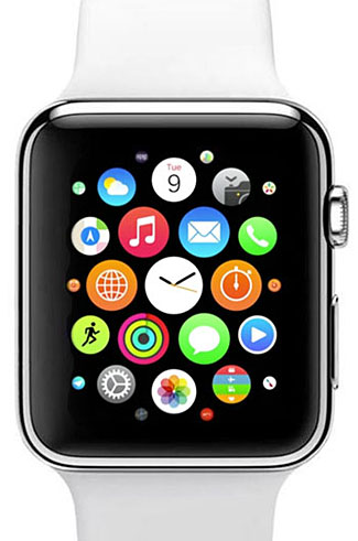 Lots of apps for Apple's watch, but even their icons are almost too small to see, let alone to choose between.