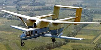 This Soviet plane, first flown in 1973, is very obviously not a contender for the most beautiful plane in the world!
