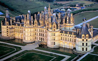 Chambord is the largest of the Loire valley chateaus, and we will be visiting it on the tour.