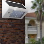 Solar Powered Outside Light for Security and General Convenience