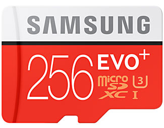 Newly released, the Samsung 256 GB Micro SD card is the current highest capacity Micro SD card available.
