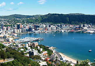With a stunningly beautiful setting on one of the world's finest natural harbors, New Zealand's capital city of Wellington is where our NZ tour this Oct/Nov