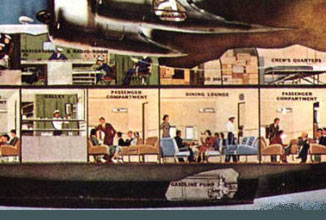 Double decker, separate cabins, even separate luxury suites. No - this isn't a new A380. This is a Boeing 314 Flying Boat from the late 1930s.