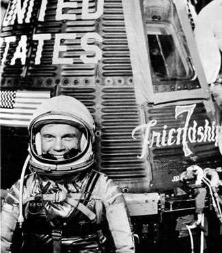 The last of the 'magnificent seven'. RIP, John Glenn. See last item.