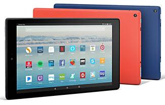"New 10"" Big Screened Amazon Tablet, Amazing $150 Value"