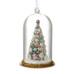 Glass Dome Christmas Tree