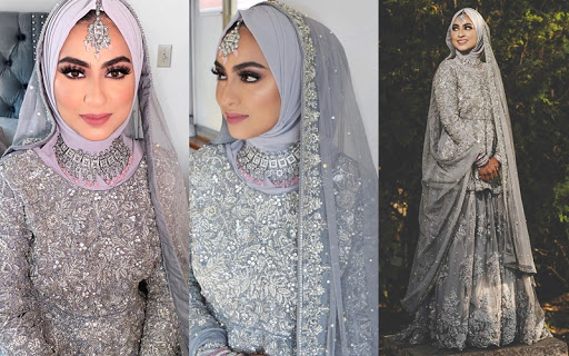 Also, to accentuate the entire look don't miss to wear a princess crown and look like a million bucks! Top 12 Hijabi Brides Who Left Us Absolutely Spell Bound The Wedding Brigade Blog