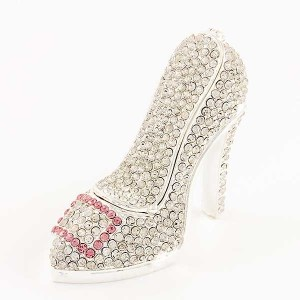 High Heel Bling Trinket Box
