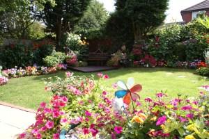Bicester in Bloom 2011 - Best Kept Back Garden