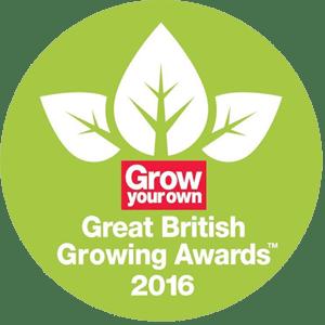 Grow Your Own British Growing Awards 2016